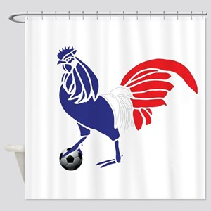 France Le Coq Shower Curtain
