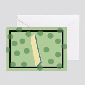 """I"" Pokla-Dot Greeting Cards (Pk of 10)"