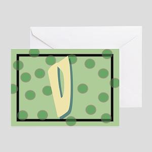 """V"" Pokla-Dot Greeting Cards (Pk of 10)"