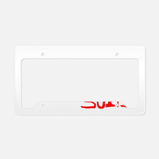 MEN IN SUITS License Plate Holder