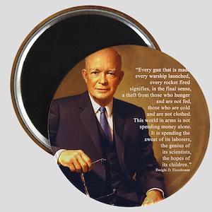 Eisenhower Every Gun round Magnet