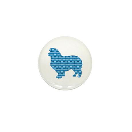 Bone Collie Mini Button (10 pack)