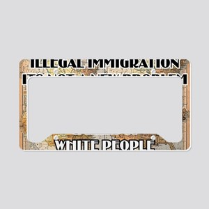 illegal immigration License Plate Holder