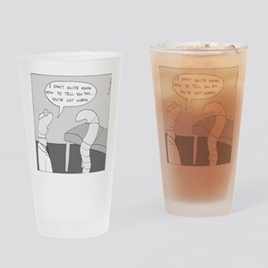 Youve Got Worms Drinking Glass