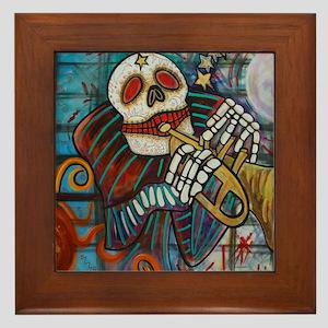 NEW dead PRINT Framed Tile