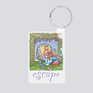 Print-ESCAPE-3 Aluminum Photo Keychain