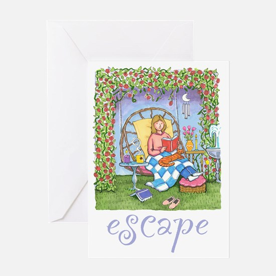 Print-ESCAPE-3 Greeting Card