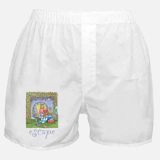 Print-ESCAPE-3 Boxer Shorts