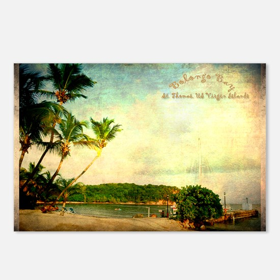 Bolongo bay st thomas us  Postcards (Package of 8)