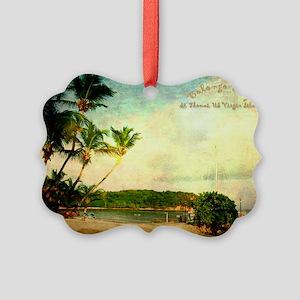 Bolongo bay st thomas us vi Picture Ornament