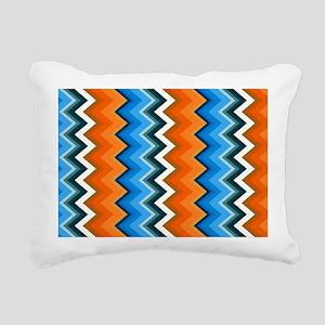 Bluebird Beachbag Rectangular Canvas Pillow
