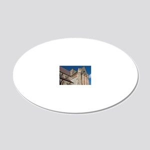 C. 1847. Masonic Lodge in di 20x12 Oval Wall Decal