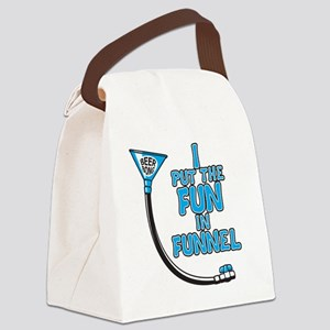 Funnel Canvas Lunch Bag