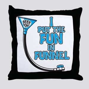 Funnel Throw Pillow