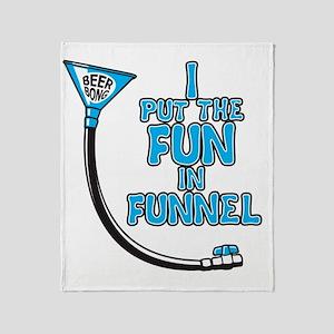 Funnel Throw Blanket