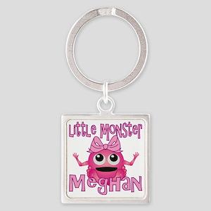 meghan-g-monster Square Keychain