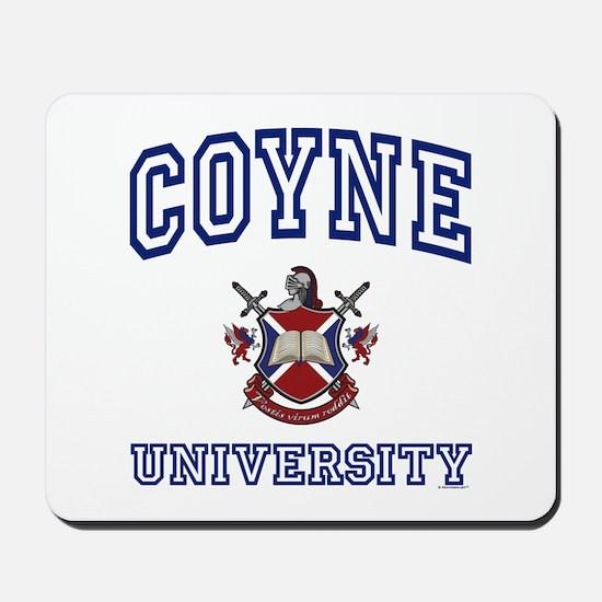 COYNE University Mousepad