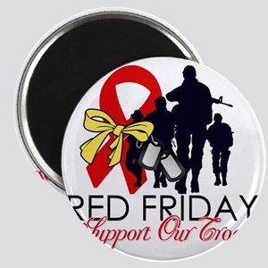 SupportRedFridays23 Magnet