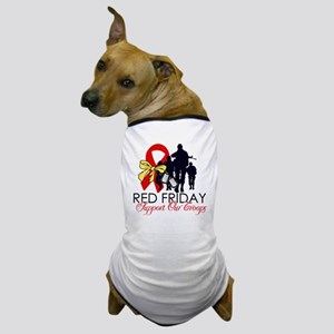 SupportRedFridays23 Dog T-Shirt