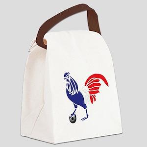 France Le Coq Canvas Lunch Bag