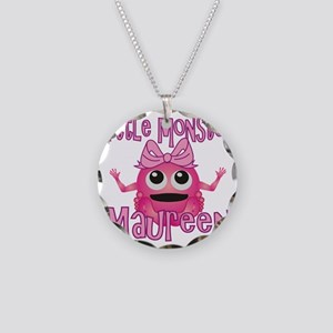 maureen-g-monster Necklace Circle Charm