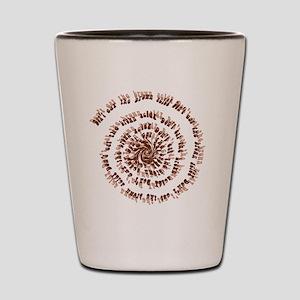 Brown Acid Shot Glass