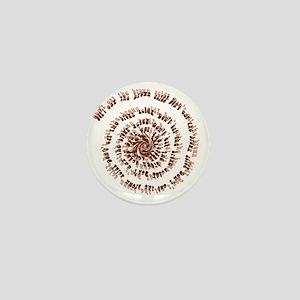 Brown Acid Mini Button