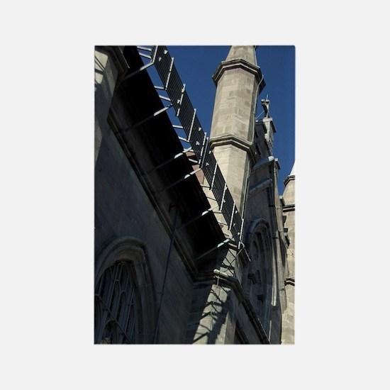 Gothic Revival architecture. re D Rectangle Magnet