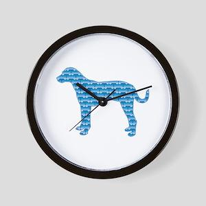 Bone Catahoula Wall Clock