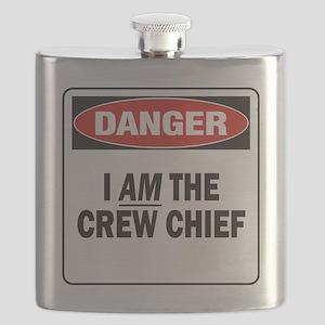 DN I AM CREW CHIEF 2 Flask