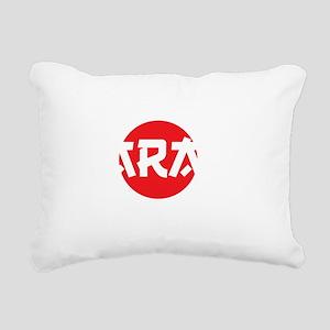 I know karate2 Rectangular Canvas Pillow