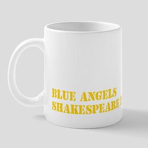 shakespeare gold Mug
