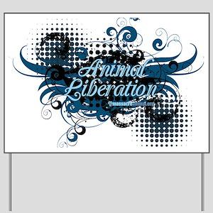 animal-liberation-04 Yard Sign