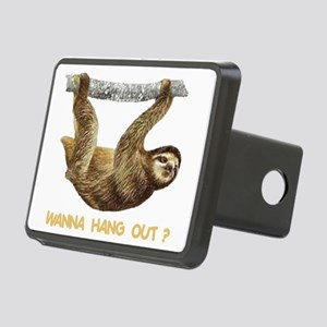 WANNA HANG OUT Rectangular Hitch Cover