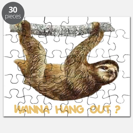 WANNA HANG OUT Puzzle