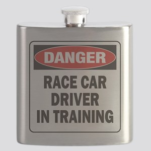 DN RACE CAR DRVR TRAIN Flask