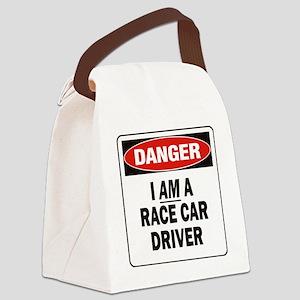 DN I AM RACE CAR DRVR 2 Canvas Lunch Bag