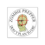 Zombie Prepper Sticker