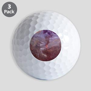 3.5x3.5_ornamentRound_uprisingNorth04 Golf Balls