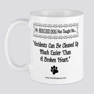 Accidents Can Be Cleaned Up Mug