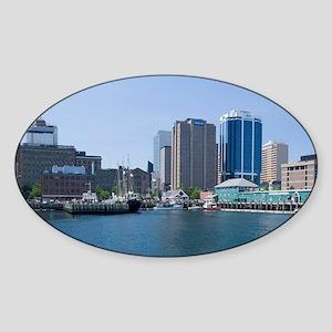 Popular Harbour Hopper tour boatter Sticker (Oval)