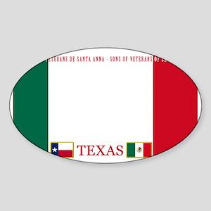 MX-lincenseplateholder2 Sticker (Oval)