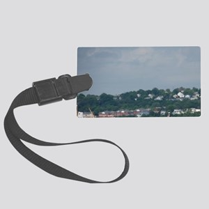 Halifax ferry in the distance Wa Large Luggage Tag