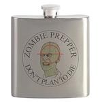 Zombie Prepper Flask