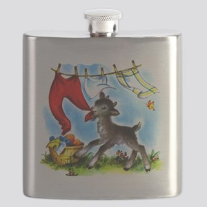 Goat in Laundry Flask