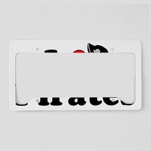 Heart-Pirates_Hat License Plate Holder