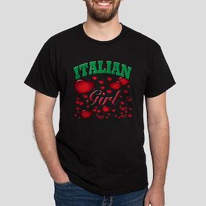 italian girl Dark T-Shirt