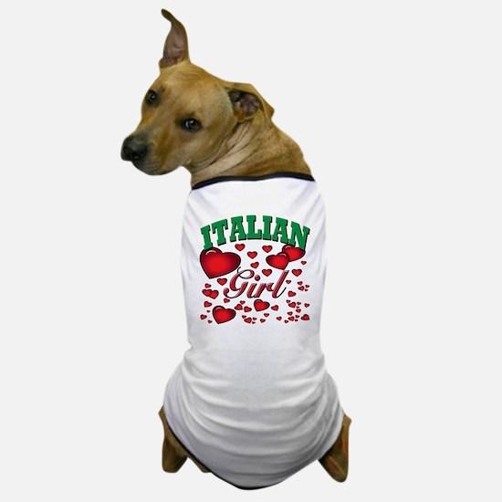 italian girl Dog T-Shirt