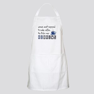 Bible Says Hebrews BBQ Apron