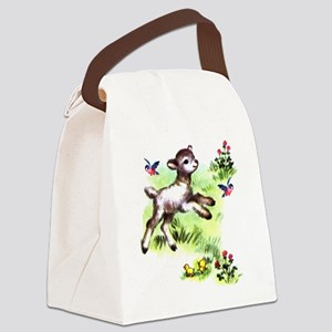 lamb Canvas Lunch Bag